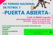 """Mañana comienza el XV Torneo """"Puerta Abierta"""" organizado por ARFES-Rioja"""
