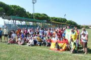 La selección de AEDIR en el XXIV Torneo Deportivo Europeo Aurora en Prato (Italia)
