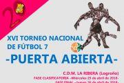 La Selección Andaluza y el equipo anfitrión de la Rioja disputan hoy la final del XVI Torneo Puerta Abierta.