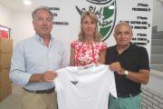 El Comité de Árbitros de la Real Federación Andaluza de Fútbol entrega material deportivo a FAISEM