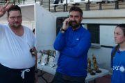 """Conexión en directo del programa radiofónico de Canal Sur """"La Azotea"""", con el Campeonato Regional de Deporte y Salud Mental celebrado en Cabra (Córdoba)."""
