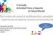 II Jornada sobre Actividad Física y Deporte en Salud Mental en Sevilla