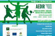 AEDIR participa en el Torneo Miguel Acosta, en Málaga.